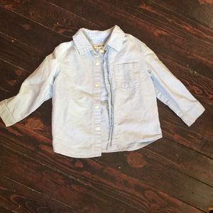 Cherokee 3t Light blue button up shirt